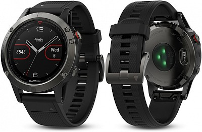 Garmin Fenix 5 Gray Optic Black Band s GPS