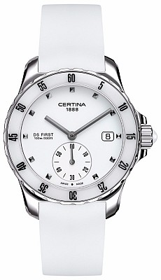 Certina DS First C014.235.17.011.00 Lady ceramic