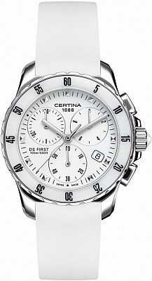 Certina DS First C014.217.17.011.00 Lady ceramic chrono