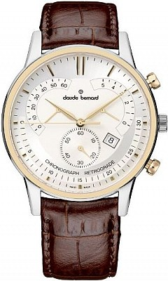Claude Bernard Classic 01506 357R AIR Chronograph Retrograde