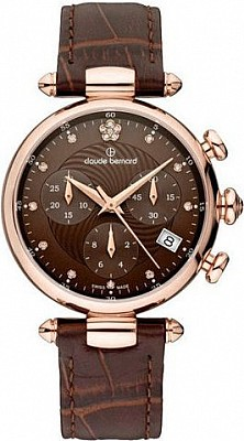 Claude Bernard Dress Code 10215 37R BRPR2 Lady Chronograph