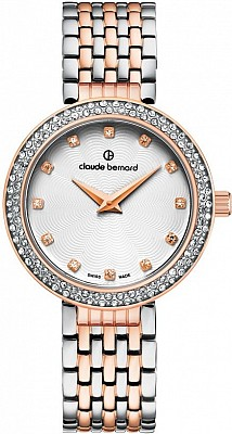 Claude Bernard Dress Code 20204 357R B Lady Slim Line