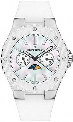 Claude Bernard Dress Code 40001 3B BIN Lady Moon Phase