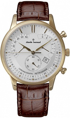 Claude Bernard Classic 01506 37R AIR Chronograph Retrograde