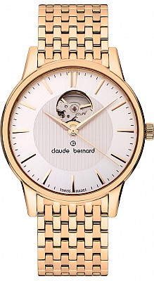 Claude Bernard Classic 85017 37RM AIR Automatic Open Heart