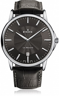 Edox Les Bémonts 56001 3 GIN SLIM LINE DATE