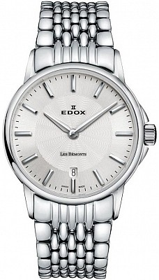 Edox Les Bémonts 57001 3M AIN Day Date