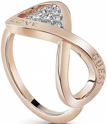 Guess UBR85005-52 prsten ENDLESS LOVE (Ring - ROSE GOLD)