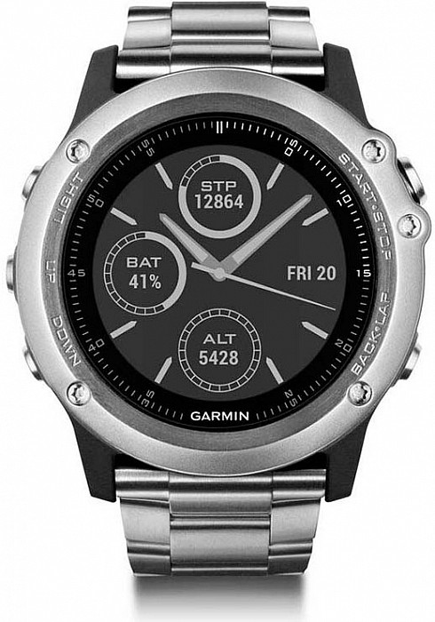 Garmin Fenix 3 Sapphire Titanium s GPS