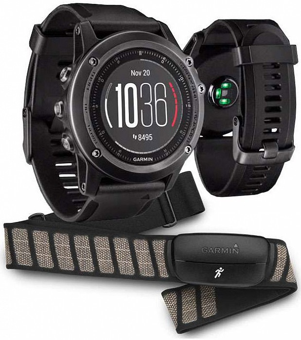 Garmin Fenix 3 Sapphire Gray Optic Performer s GPS