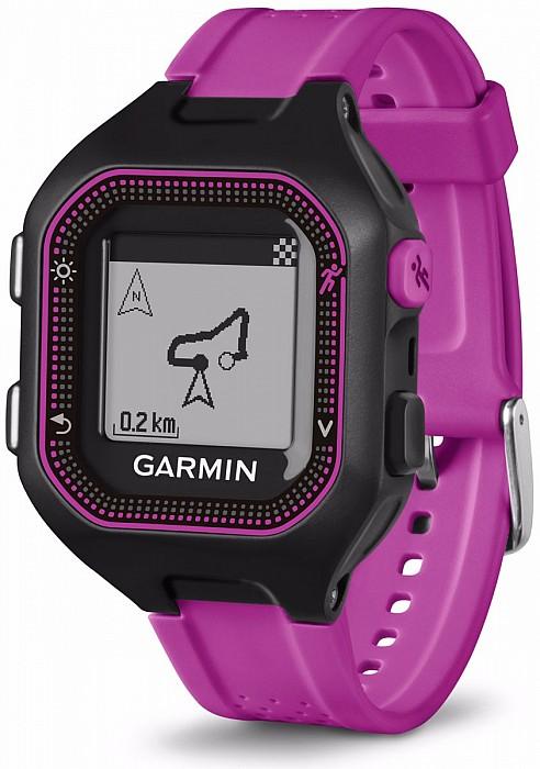 Garmin Forerunner 25 Black/Purple s GPS (vel. S)