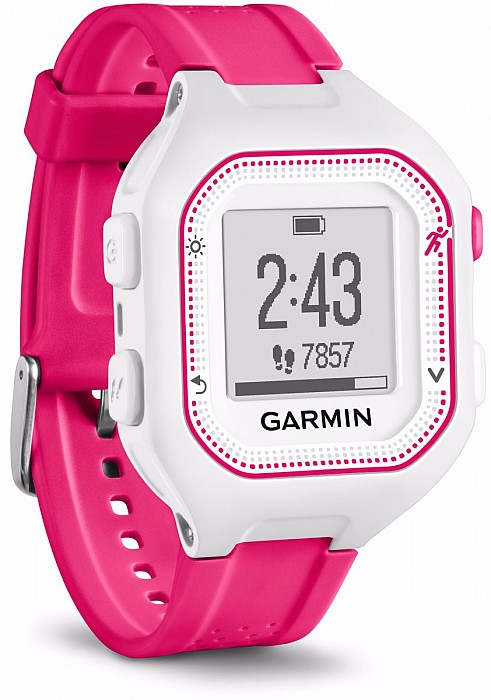 Garmin Forerunner 25 White/Pink s GPS (vel. S)