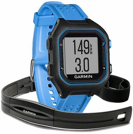Garmin Forerunner 25 Black/Blue HR s GPS (vel. XL)