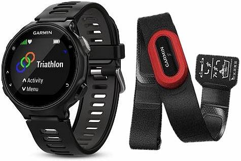 Garmin Forerunner 735XT Black Optic Run Bundle s GPS