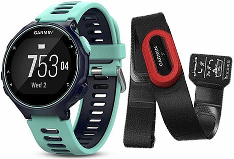 Garmin Forerunner 735XT Optic Run Bundle Blue s GPS