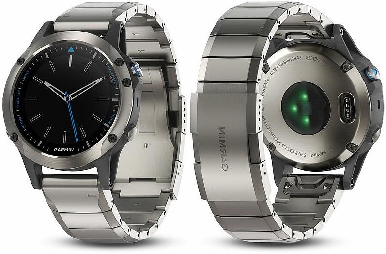 Garmin Quatix5 Sapphire Optic s GPS (jachtařské hodinky)