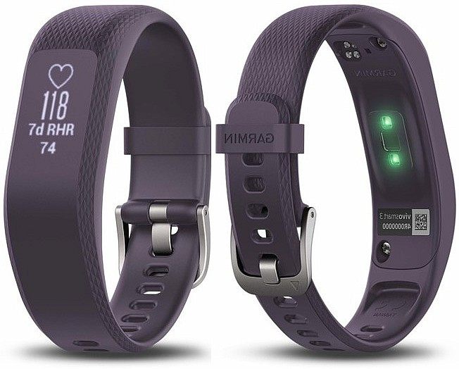 Garmin vivoSmart 3 Optic Purple (vel. L)