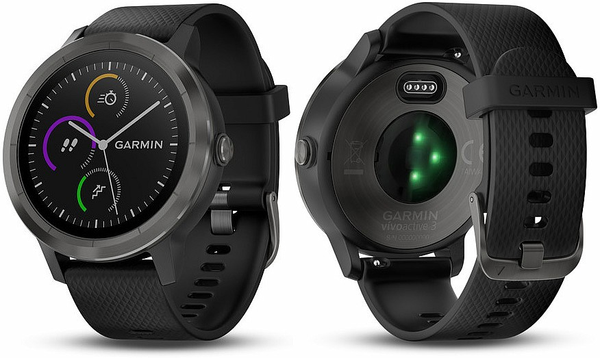 Garmin vívoACTIVE3 Optic Grey s GPS