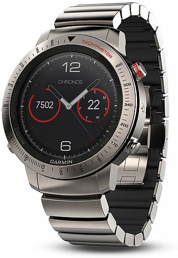 Garmin Fenix Chronos Titanium Optic Smart Watch s GPS