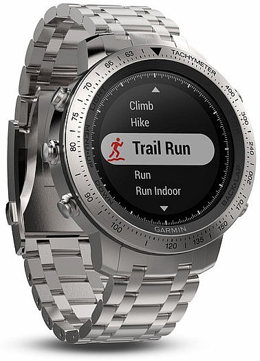 Garmin Fenix Chronos Steel Optic Smart Watch s GPS