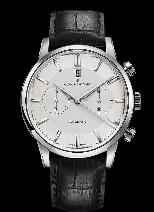 Claude Bernard Classic 08001 3 AIN Chronograph Automatic