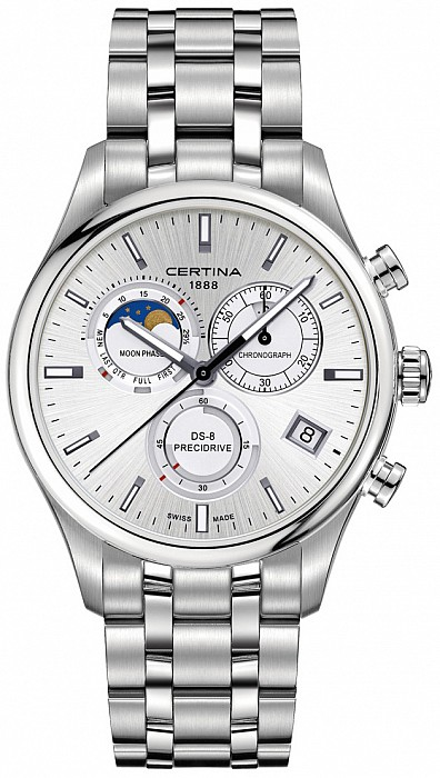 Certina DS-8 C033.450.11.031.00 Chronograph Moon Phase