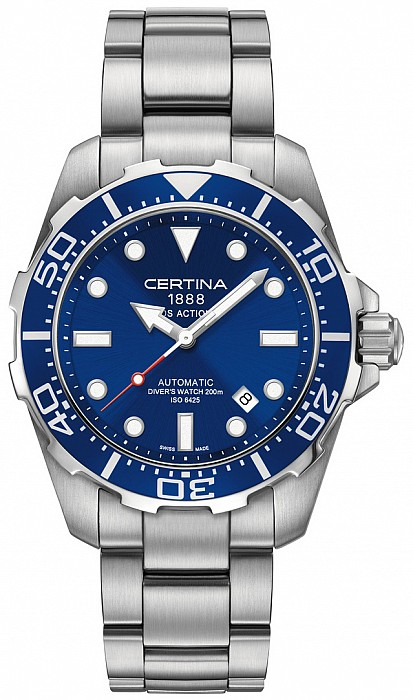 Certina DS Action C013.407.11.041.00 Diver's Watch Gent Automatic