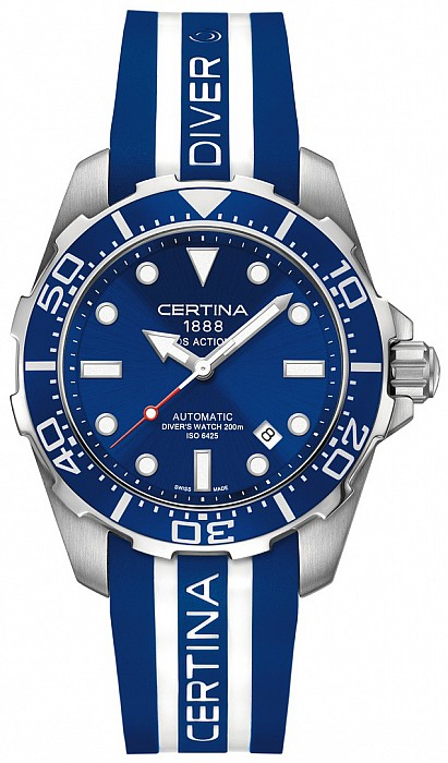 Certina DS Action C013.407.17.041.00 Diver's Watch Gent Automatic