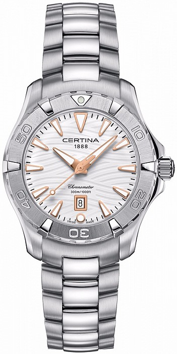 Certina DS Action C032.251.11.011.01 Lady Diver's Watch Chronometer