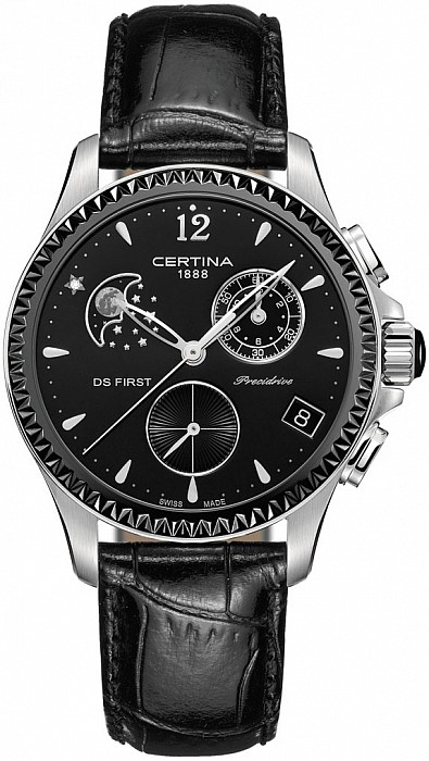 Certina DS First C030.250.16.056.00 Lady Chronograph Moon Phase