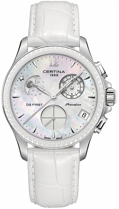 Certina DS First C030.250.16.106.00 Lady Chronograph Moon Phase