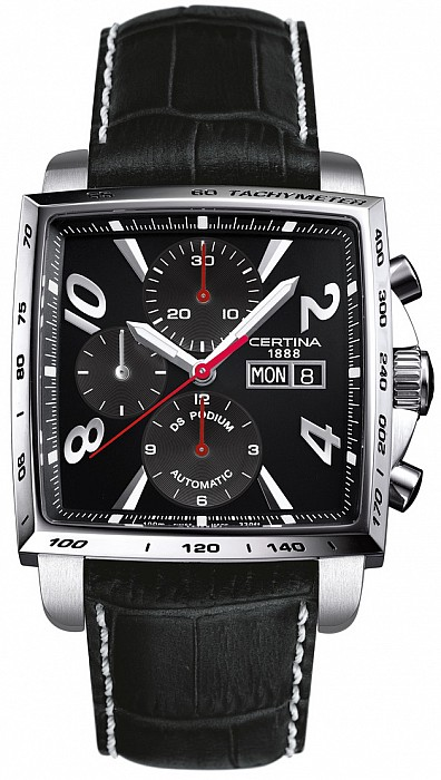 Certina DS Podium C001.514.16.057.01 Square Chrono Automatic