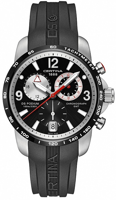 Certina DS Podium C001.639.27.057.00 Big Size Chrono GMT