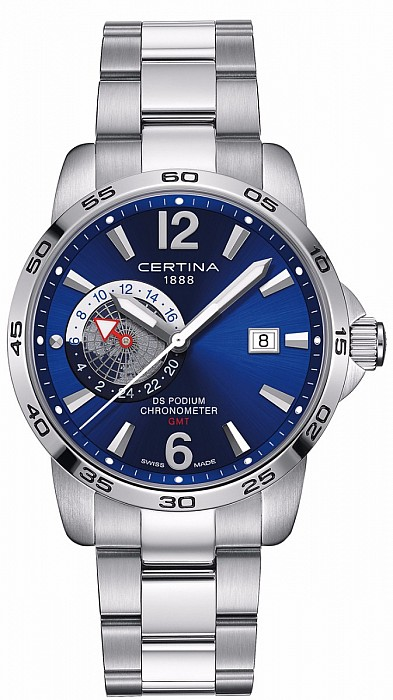 Certina DS Podium C034.455.11.047.00 GMT Precidrive