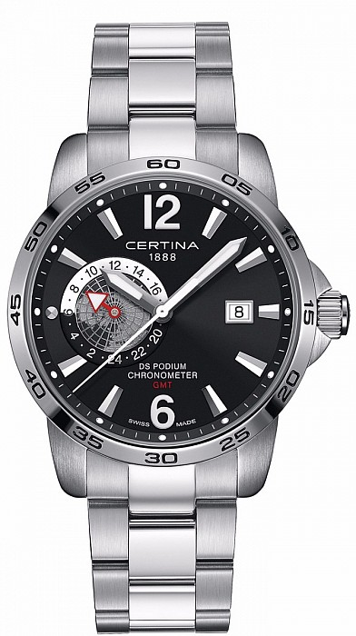 Certina DS Podium C034.455.11.057.00 GMT Precidrive