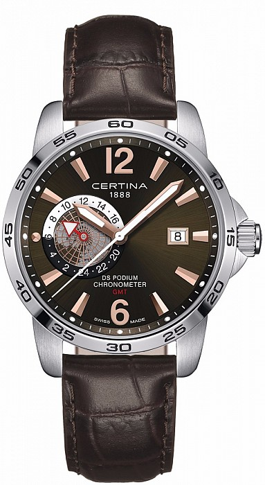 Certina DS Podium C034.455.16.087.01 GMT Precidrive