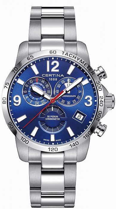 Certina DS Podium C034.654.11.047.00 Chronograph GMT Precidrive