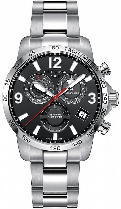 Certina DS Podium C034.654.11.057.00 Chronograph GMT Precidrive