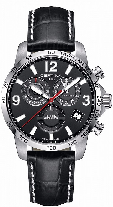Certina DS Podium C034.654.16.057.00 Chronograph GMT Precidrive