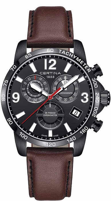 Certina DS Podium C034.654.36.057.00 Chronograph GMT Precidrive