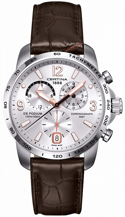 Certina DS Podium C001.639.16.037.01 Big Size Chrono GMT