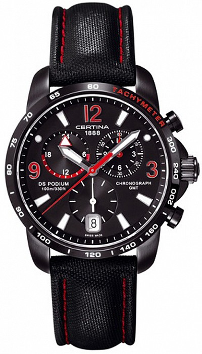 Certina DS Podium C001.639.16.057.02 Big Size Chrono GMT