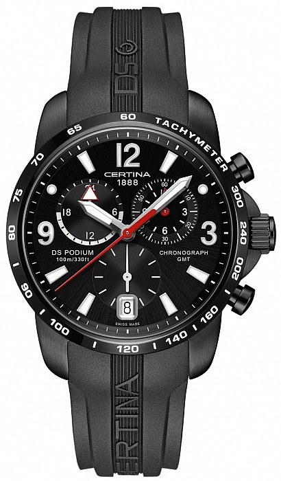 Certina DS Podium C001.639.17.057.00 Big Size Chrono GMT