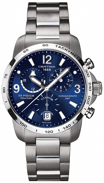 Certina DS Podium C001.639.44.047.00 Big Size Chrono GMT