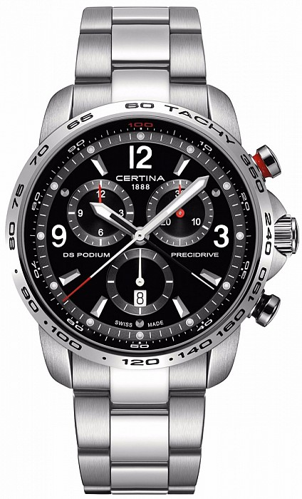 Certina DS Podium C001.647.11.057.00 Big Size Chrono 1/100 Precidrive