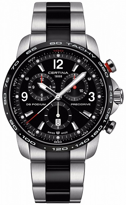 Certina DS Podium C001.647.22.057.00 Big Size Chrono 1/100 Precidrive