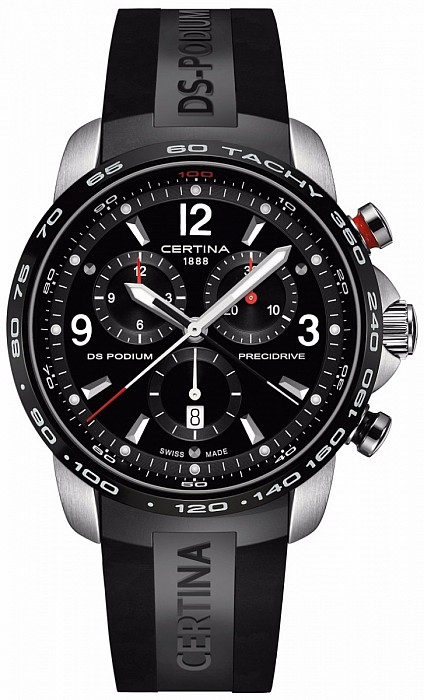 Certina DS Podium C001.647.27.057.00 Big Size Chrono 1/100 Precidrive