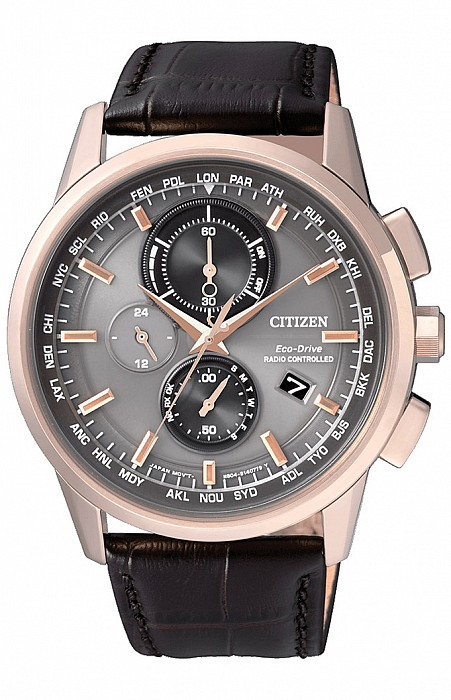 Citizen Elegance AT8113-12H Radio Controlled Eco-Drive