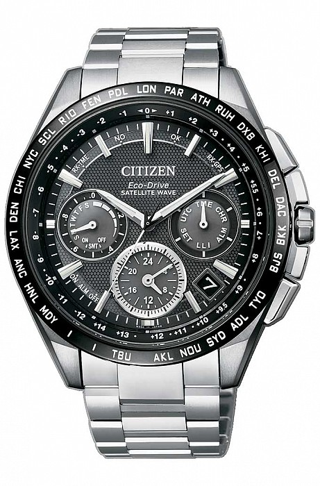 Citizen Elegance CC9015-54E Satellite Wave Super Titanium Eco Drive
