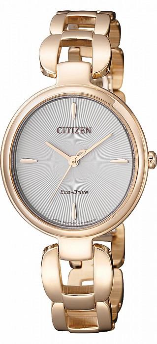 Citizen L Serie EM0423-81A Lady Analog Eco Drive